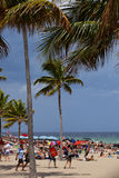 Fort Lauderdale-Ferien lizenzfreies stockbild