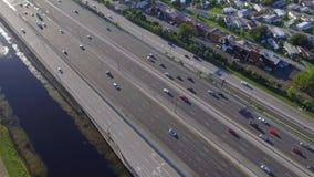 Fort Lauderdale FL för antenn 595 stock video