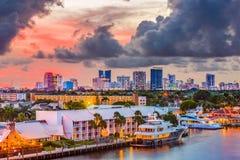 Fort Lauderdale Florida Stockfotos