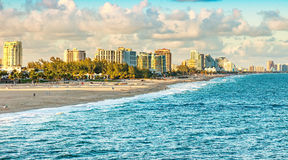 Fort Lauderdale Florida Royaltyfria Foton