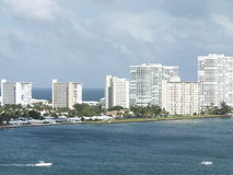 Fort Lauderdale in Florida Royalty Free Stock Images