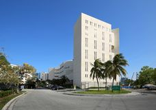 Main Jail in Fort Lauderdale. Royalty Free Stock Image