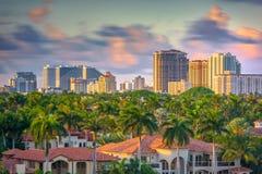 Fort Lauderdale, Florida, USA Skyline Stock Photos