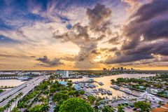 Fort Lauderdale, Florida, USA. Skyline Stock Images