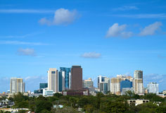 Fort Lauderdale, horizonte de la Florida Imagenes de archivo