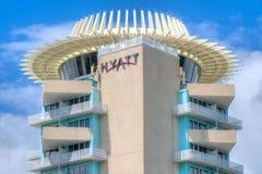 Fort Lauderdale Hyatt Hotel Stock Photo