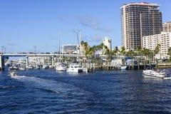 Free Fort Lauderdale Intercoastal Waterway Royalty Free Stock Photography - 117741477