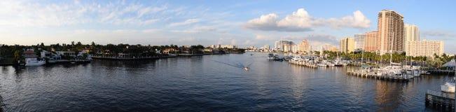 Fort Lauderdale Intracoastal Стоковые Изображения