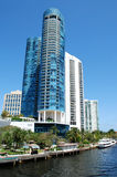 Fort Lauderdale-Kanal Lizenzfreies Stockbild