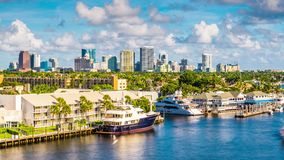 Fort Lauderdale la Florida almacen de metraje de vídeo