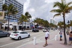 Fort Lauderdale, la Florida Imagen de archivo
