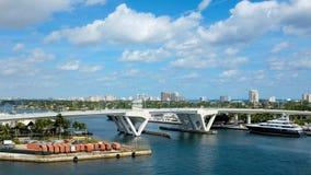 Fort Lauderdale la Floride images libres de droits