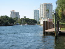Fort Lauderdale Landscape Royalty Free Stock Image