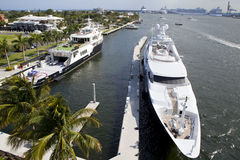 Fort Lauderdale nabrzeże obraz stock