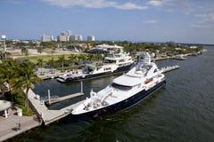 Fort Lauderdale nabrzeże zdjęcia royalty free