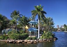 Fort Lauderdale Nowa rzeka Zdjęcie Stock
