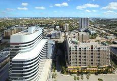 Fort Lauderdale skyline Royalty Free Stock Image