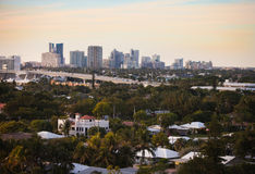 Fort Lauderdale Skyline Stock Photography