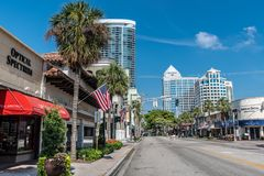 Fort Lauderdale Street View stock photos