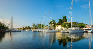 Fort Lauderdale Waterway Royalty Free Stock Photos