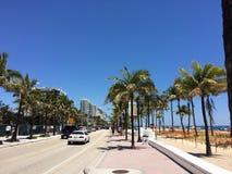 Fort Lauderdaleinvallning, Florida arkivfoto