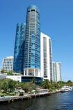 Fort Lauderdalekanal Royaltyfri Bild