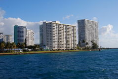 Fort- Lauderdalekondominium-Punkt von Amerika Lizenzfreies Stockbild