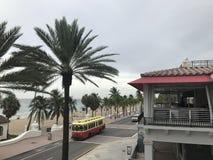 Fort Lauderdalestrand i Florida royaltyfria bilder