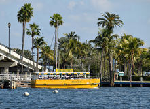 Fort Lauderdalevattentaxi Arkivbild