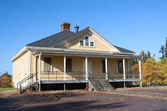 Fort Lawton Army Base Guard House Royalty Free Stock Photography
