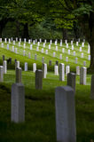 Fort Lawton Military Cemetery, Discovery Park, Seattle, Washington Stock Images