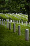 Fort Lawton Military Cemetery, Discovery Park, Seattle, Washington Royalty Free Stock Photography