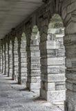 Fort Lennox Arches, Qc, Kanada Arkivfoto
