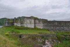 Fort Lesendro, Montenegro Royaltyfri Foto