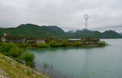Fort Lesendro, Montenegro. The Medieval Fort Lesendro on the Skadar Lake, Montenegro Royalty Free Stock Image