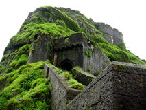 Fort Lohgad Entrance royalty free stock photography