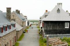 Fort Louisbourg - Nova Scotia - Canada. Fort Louisbourg in Nova Scotia - Canada royalty free stock photo