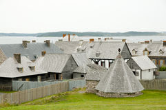 Fort Louisbourg - Nova Scotia - Canada Royalty Free Stock Photo