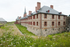 Fort Louisbourg - Nova Scotia - Canada Royalty Free Stock Images