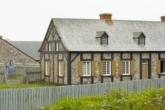 Fort Louisbourg - Nova Scotia - Canada Stock Photography