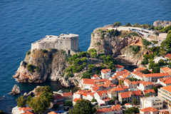 Fort Lourijenac in Dubrovnik Stock Image