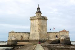 Fort Louvois fortification in Charente maritime stock image