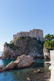 Fort Lovrijenac (circa 1018) in Dubrovnik, Croatia Stock Photography