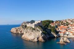 Fort Lovrijenac (circa 1018) i Dubrovnik, Kroatien Royaltyfri Fotografi