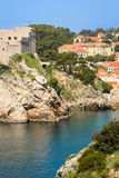 Fort Lovrijenac and citadel. Dubrovnik. Croatia Stock Photos