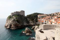 Fort Lovrijenac, Dubrovnik Royalty Free Stock Photo
