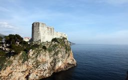 Fort Lovrijenac, Dubrovnik Royalty Free Stock Photography