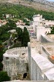 Fort Lovrijenac in Dubrovnik. Fort Lovrijenac medieval landmark in Dubrovnik, Croatia, Dalmatia County Stock Image