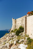 Fort Lovrijenac in Dubrovnik, Croatia Royalty Free Stock Photography