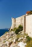 Fort Lovrijenac in Dubrovnik, Croatia Royalty Free Stock Photography